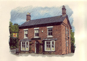 Bed and Breakfast accommodation Northwich, Hotel Pub Northwich - Red Lion, Hartford, Cheshire, bed, brekfast, Hotel, Pub, lunch, dinner